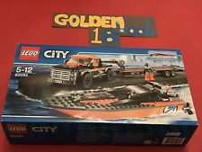 LEGO CITY 60085 4x4 TRUCK TRAILER AND SPEED POWER BOAT - NEW SEALED Gift Present