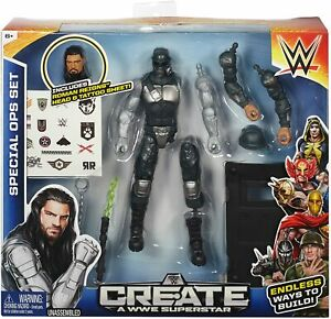 Details about Create a WWE Superstar Roman Reigns Special Forces Pack