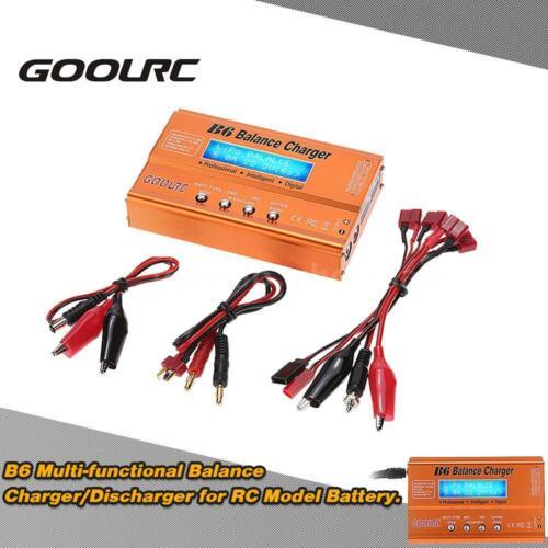 GoolRC B6 Balance Charger//Discharger for LiPo Lilon NiCd NiMh Pb RC Battery J9F5