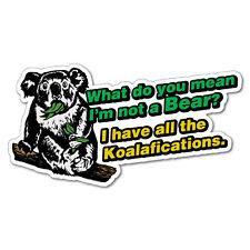 What Do You Mean Koala Sticker Decal Funny Vinyl Car Bumper #5681EN