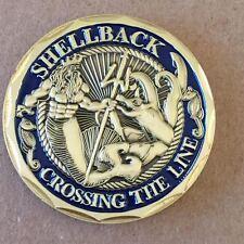 Shellback US Navy Marine Corps Challenge Coin New