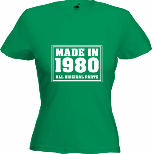 Premium Quality 2020 Gift MADE IN 1980-40th Birthday T-Shirt