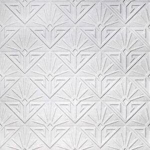 Deko Paradiso Bemalbar Strukturiert Vinyl Tapete Anaglypta RD576