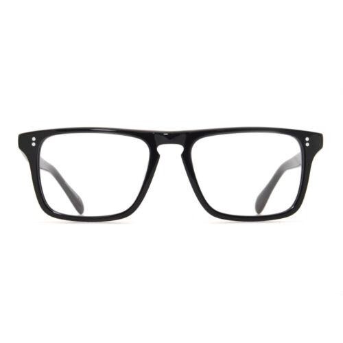 Robert Downey Optique Cadre Noir Strom Gray Top acétate lunettes lunettes homme