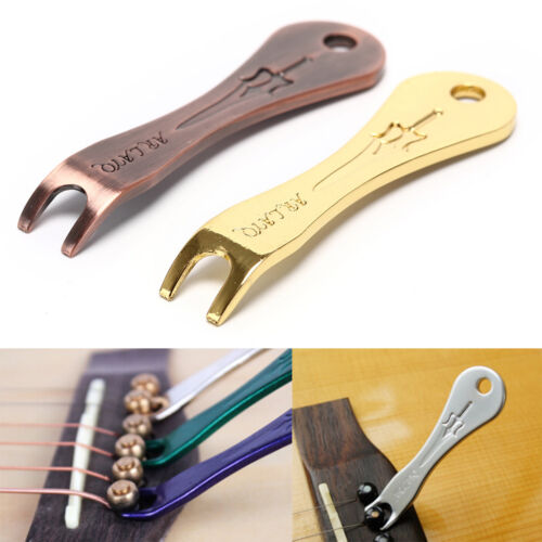 Acoustic Guitar`String Nail Peg Pulling Puller Bridge Pin`Remover Handy Tool Gut