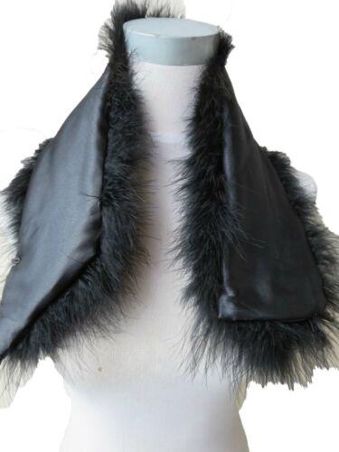 Women Real ostrich Feather Fur Scarf Fluffy Soft Neckerchief 70cm*14cm 18colors