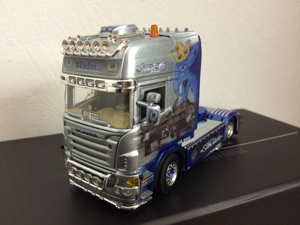 Wsi 1 50 Scania R TL scandicar North Star lados RARE 05-0044
