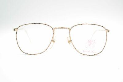 Vintage Nouvelle Ligne 001 40[]16 140 Gold Oval Brille Eyeglasses Nos Perfekte Verarbeitung