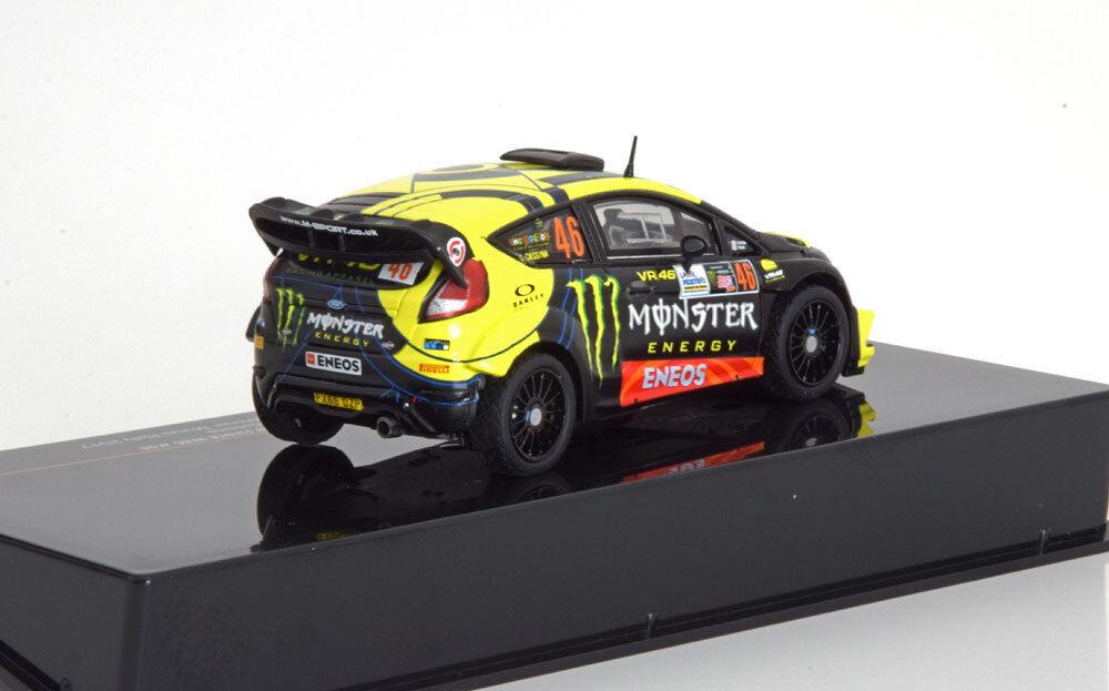 IXO 1 43 VALENTINO ROSSI ROSSI ROSSI 46 FORD FIESTA WRC WINNER MONZA RALLY SHOW 2017 RAM658 30212a