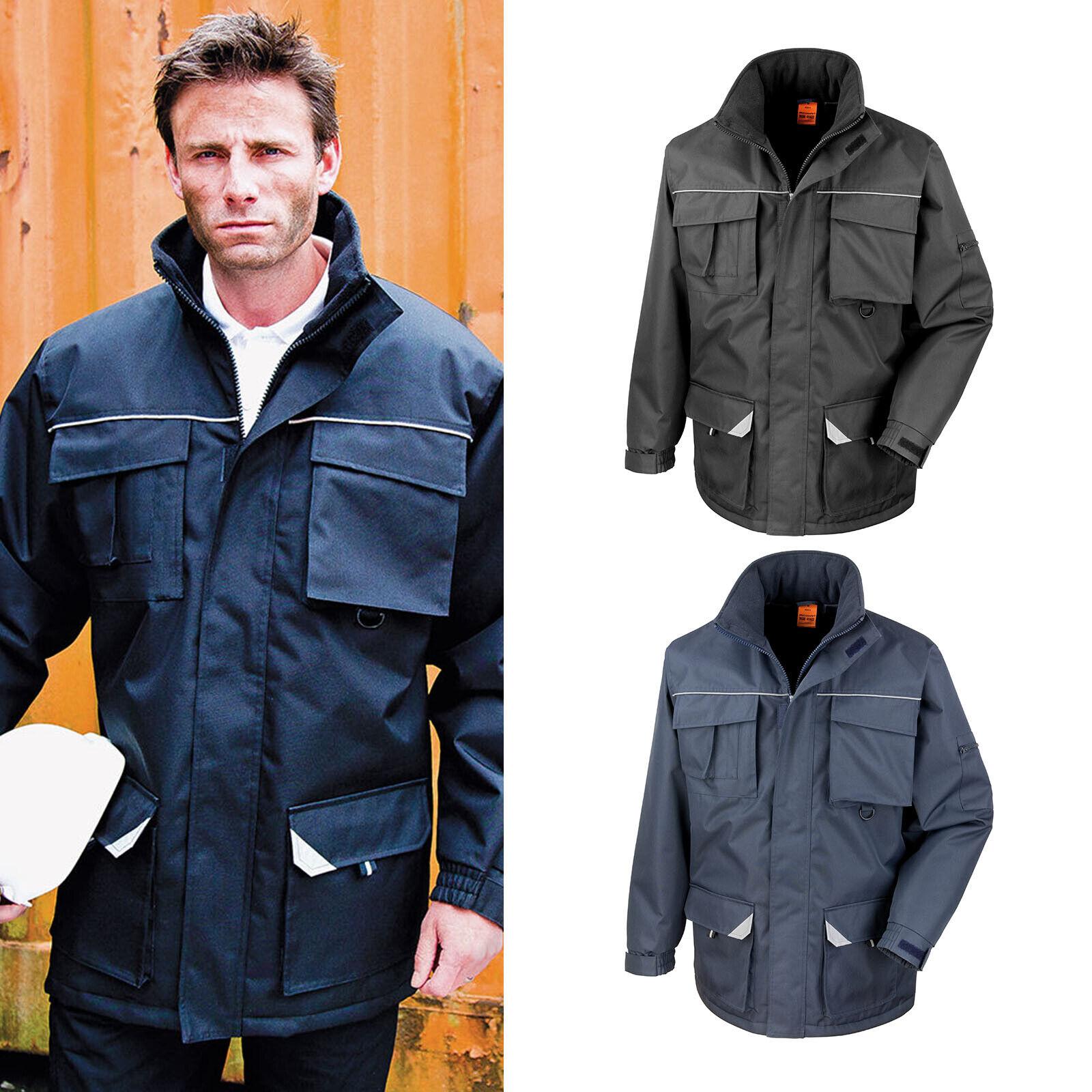 Result Work-Guard Sabre Long Coat R301X