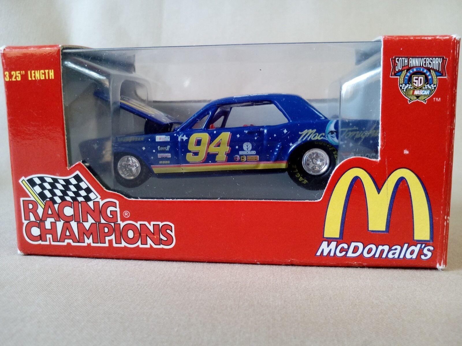Racing Champions McDonalds Die Cast Car 1 64 Scale 1998 Bill Elliott Ford