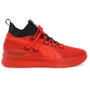 PUMA Men's Clyde Court X Meek Mill Reform BasketBall Red Shoes 19346101 NEW!
