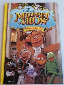 JIM-HENSON-039-S-Muppets-Annual-no3-1979-Illustrated-vintage-hardback-book-tv
