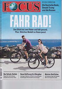 Focus Ausgabe Nr. 14 / 2017 # Fahr Rad# ***NEU*** - Hildesheim, Deutschland - Focus Ausgabe Nr. 14 / 2017 # Fahr Rad# ***NEU*** - Hildesheim, Deutschland