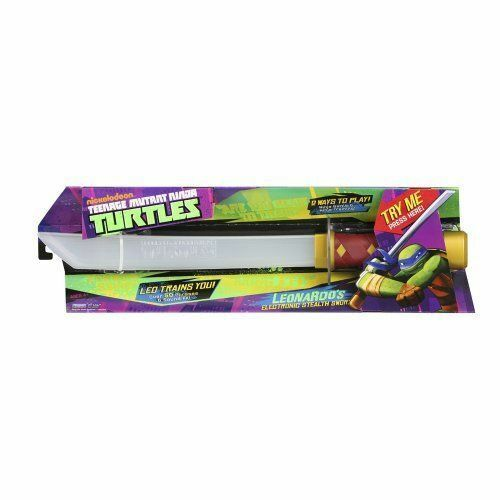 Teenage Mutant Ninja Turtles leonardos elettronico STEALTH SPADA compagni di gioco 92061