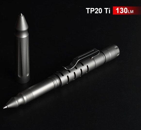 Klarus TP20 Penna ti LUCE 130 LM Torcia, Penna, Survial Strumento