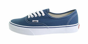 Image is loading Vans-Women-Men-Unisex-Shoes-Authentic-Navy-Blue-