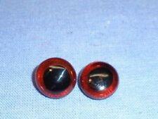 Glasaugen für Bären oder Tiere braun 11/ eyes of glass brown f. animal/bears 11
