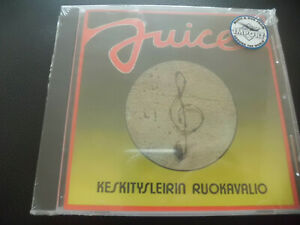 Juice-keskitysleirin-ruokavalio-CD-1976-Finland-Rock-Radio-NUOVO