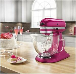 KitchenAid Raspbery ice Tilt Artisan Stand Mixer Gl Bowl ... on kitchenaid mixer raspberry ice, kitchenaid blue utensils, green kitchenaid mixer ice, kitchenaid mixer ice cream, kitchenaid hand mixer aqua, kitchenaid mixer dimensions, kitchenaid professional mixer, kitchenaid mixer parts list, kitchenaid hand mixer ice, kitchenaid mixer sizes,