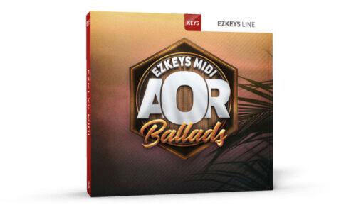 Download ToonTrack EZkeys AOR Ballads MIDI-Pack