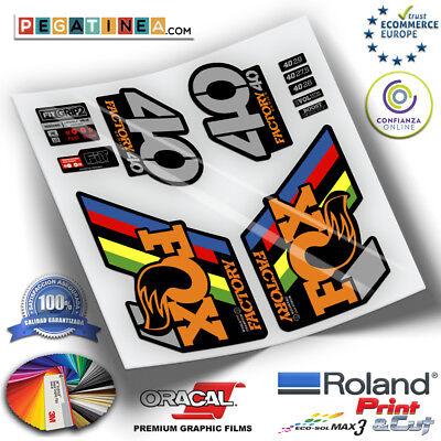 Sticker fork fox 34 wc 2019 ep90 stickers Aufkleber Autocollant downhill mountainbiking