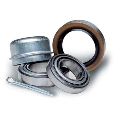 1 1//4 in Trailer Wheel Bearing Kit w//Dust Cap