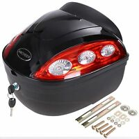 Extra Large Motorcycle Scooter Trunk Luggage Top Case Hard Tail Box