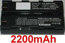 Batteria 2200mAh tipo 733270 GBE211 Per LEICA GPS900