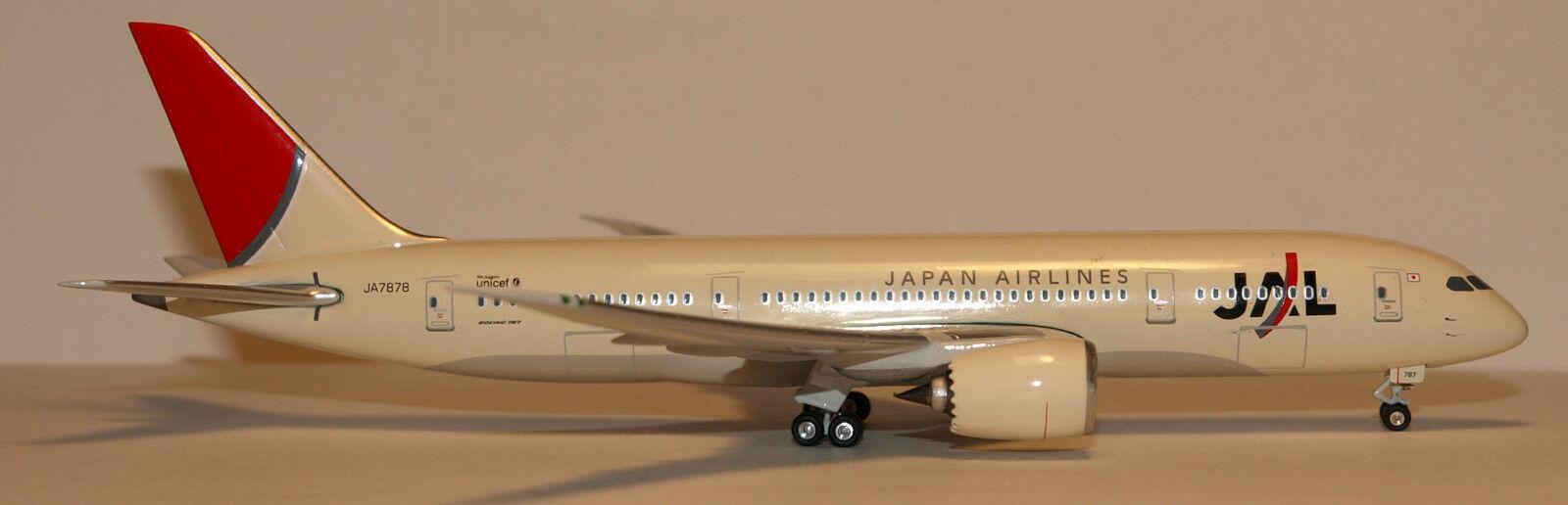 Phoenix 1:400 Japan JAL Boeing 787-8 original colors prod id 10140 rel  2006