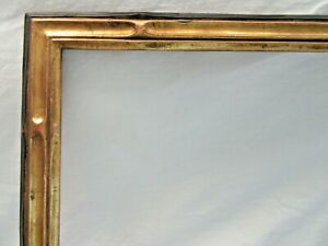 Big-Antique-Fits-19-X-25-034-Gold-Picture-Frame-Wood-Gesso-Fine-Art-COUNTRY-NOUVEAU