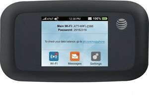 AT/&T UNLIMITED DATA NO THROTTLING 4G LTE AT/&T Unite PRO HOTSPOT//REAL DEAL PLAN!