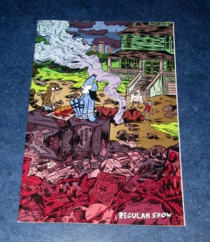 REGULAR SHOW #11 C 1:15 virgin variant 1st print kaBOOM 2014 cartoon network TV