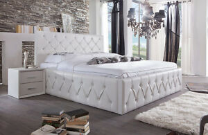 di lara polsterbett san remo mit bettkasten 140x200 160x200 180x200 200x200 ebay. Black Bedroom Furniture Sets. Home Design Ideas