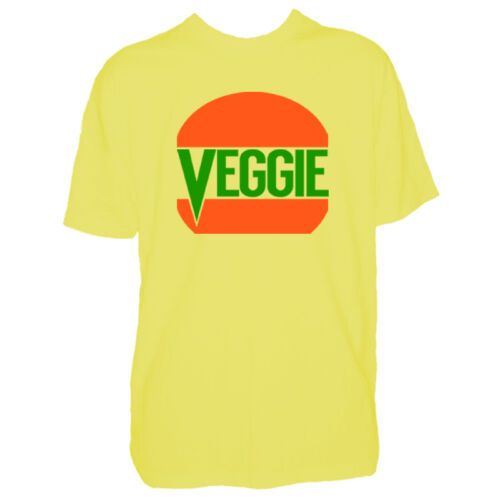 Vegetarian Diet Meat Free Shirt Activist Top Mens Veggie Burger Tshirt