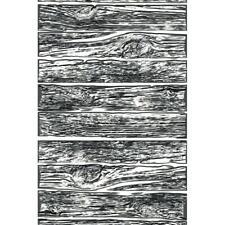Sizzix 3 D Texture Fades Embossing Folder Mini Lumber 665460 By Tim Holtz