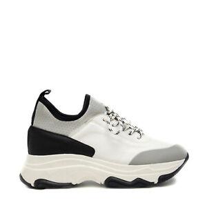 Woman Vegan Chunky Sneaker Daddy White