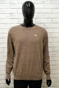 Cardigan-Uomo-KAPPA-Taglia-Size-XXL-Maglia-Maglione-Felpa-Pullover-Sweater-Man