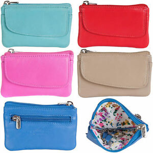 GOLUNSKI-SOFT-LEATHER-WOMENS-TOP-ZIP-COIN-PURSE-DIFFERENT-COLOURS-0-332