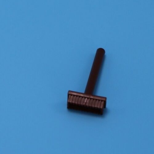 Lego brown push broom for Minifigure  Parts Bricks Pieces Accessories