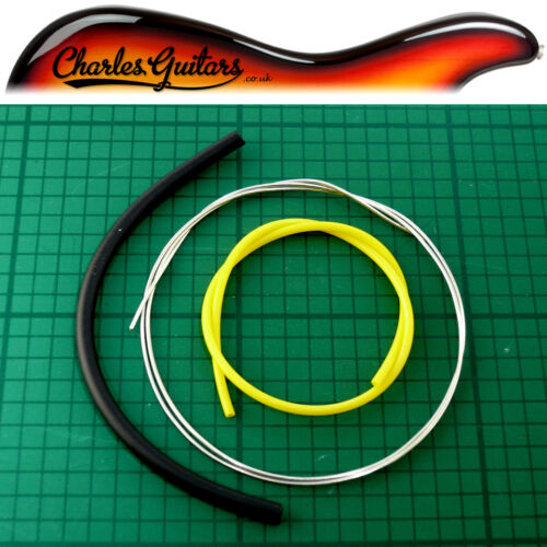 EARTH WIRE /& SLEEVE FOR BRAIDED WIRE GIBSON LES PAUL SG CH50009