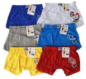 Kinder Boxershorts Neu Jungen Boxershorts 6 Tlg Kinder Unterhose Jungen Slip´s