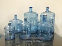 Plastic Water Jug Bottle 5 Gallon 3 Gallon 2 Gallon 1 Gallon Half Gallon (usa)