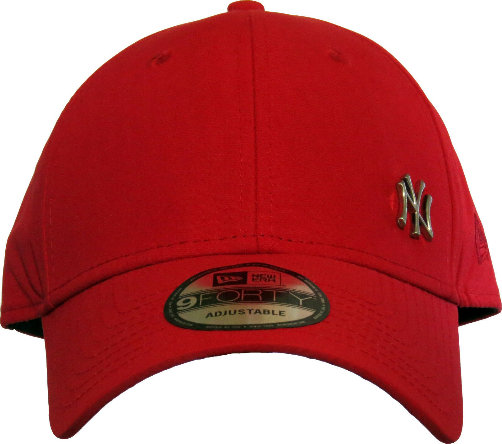 766ebb315a1bb Era MLB Flawless Logo 9forty Adjustable Cap NY Yankees Red One Size ...