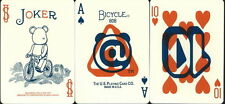 Carte da gioco BICYCLE  BE@rBRICK ,poker size