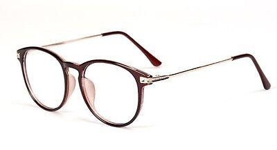 Classic Retro Clear Lens Glasses Eyewear Nerd Geek Eyeglass Designer Spectacles