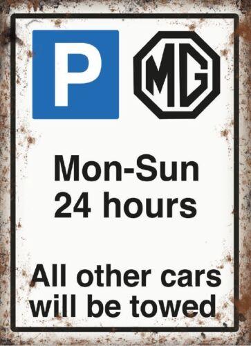 30x40cm MG Parking metal wall sign