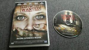 BABYSITTER WANTED - Sarah Thompson, Matt Dallas, Tina Houtz (DVD)