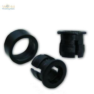 50-LED-Anneaux-de-montage-Plastique-5mm-LEDs-AGRAFE-anneaux-Version