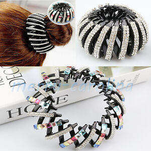 Women-Crystal-Rhinestone-Hair-Clip-Claw-Clamp-Hair-Comb-Ponytail-Holder-Hairpin